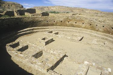 Chaco kiva closeup